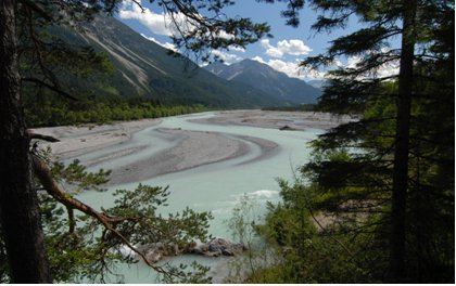 Lech river: restored to its natural hydrological process – Anton Vorauer WWF Austria