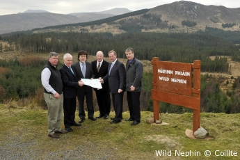 Irish Prime Minister, Enda Kenny TD, at Wild Nephin
