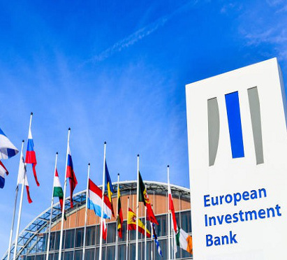 European Investment Bank sign